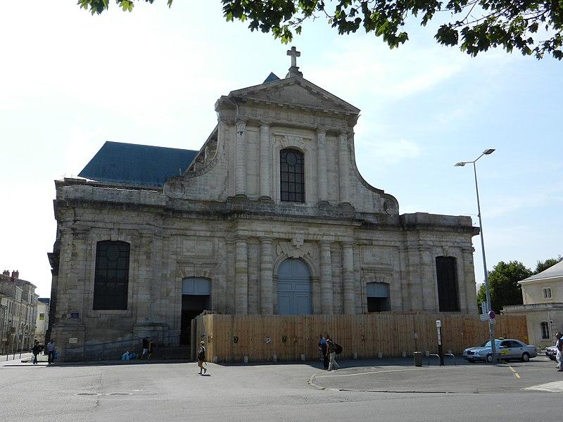 Photo du Monument Historique Cathédrale Saint-Louis situé à Rochelle (La)