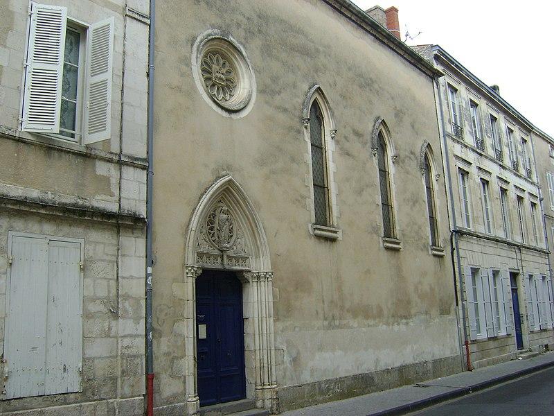 Photo du Monument Historique Chapelle de l'Espérance situé à Rochelle (La)