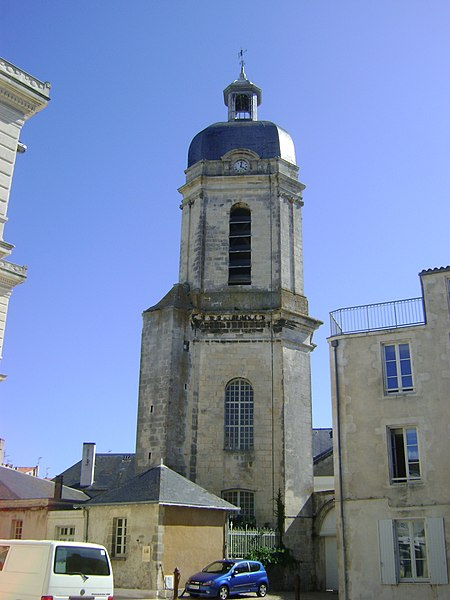 Photo du Monument Historique Clocher Saint-Jean situé à La Rochelle