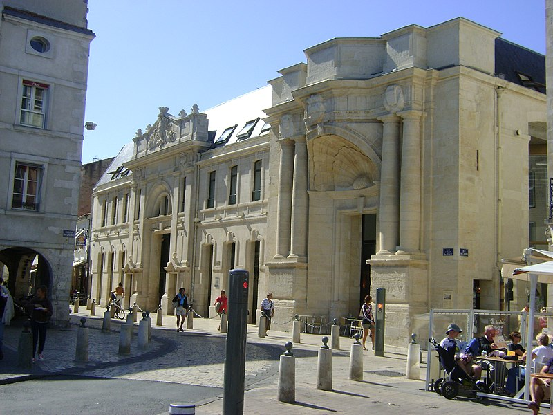Photo du Monument Historique Ancienne église des Carmes, marché aux poissons situé à Rochelle (La)