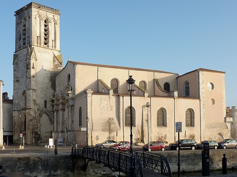 Photo du Monument Historique Eglise Saint-Sauveur situé à La Rochelle