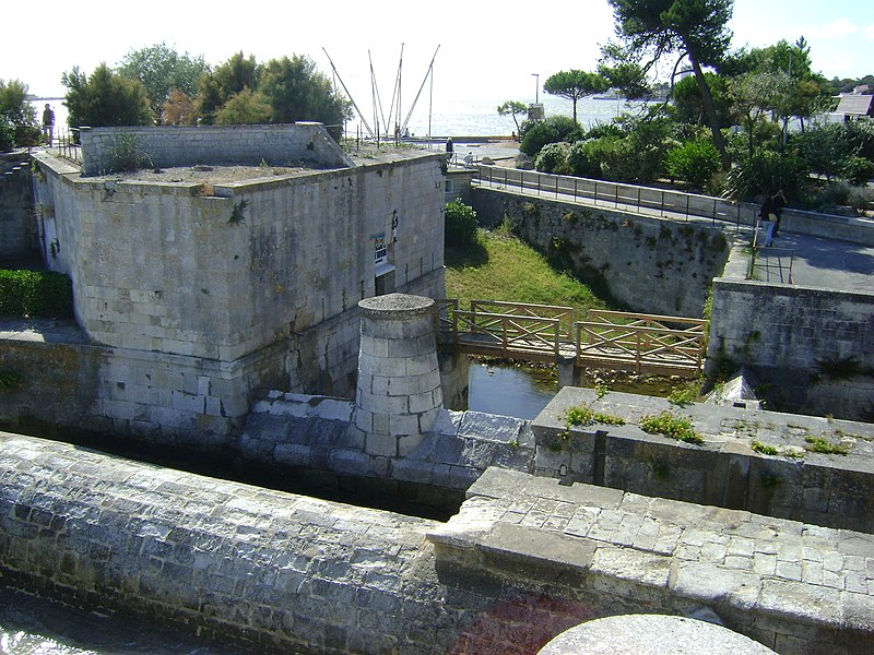 Photo du Monument Historique Fortin dit des deux moulins situé à Rochelle (La)