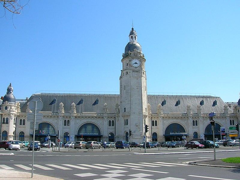 Photo du Monument Historique Gare situé à La Rochelle