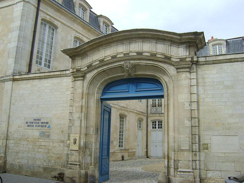 Photo du Monument Historique Hôtel de Fleuriau situé à Rochelle (La)