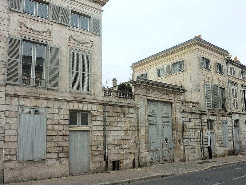 Photo du Monument Historique Hôtel Leclerc situé à Rochelle (La)
