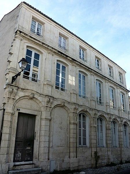 Photo du Monument Historique Hôtel situé à Rochelle (La)