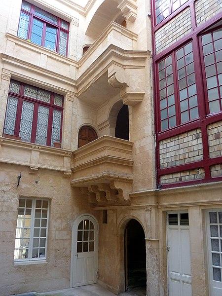 Photo du Monument Historique Immeuble situé à Rochelle (La)