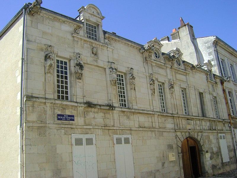 Photo du Monument Historique Maison de Nicolas Venette situé à La Rochelle
