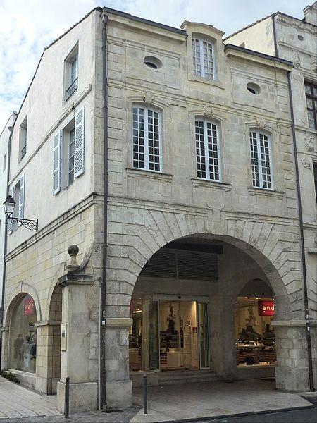 Photo du Monument Historique Maison dite du Maire Jean Guiton situé à La Rochelle