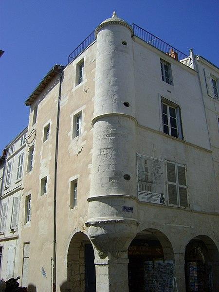 Photo du Monument Historique Maison dite Maison au Chien situé à Rochelle (La)