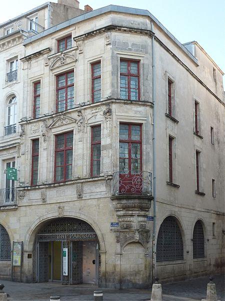 Photo du Monument Historique Maison Pillaud situé à Rochelle (La)