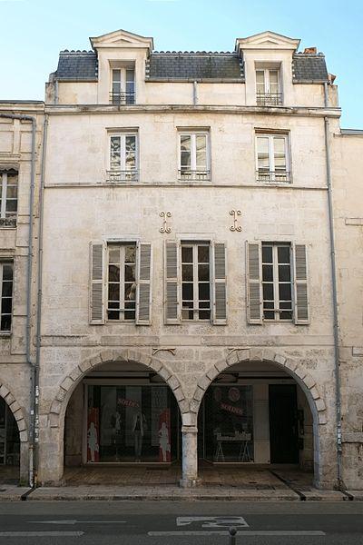 Photo du Monument Historique Maison situé à Rochelle (La)