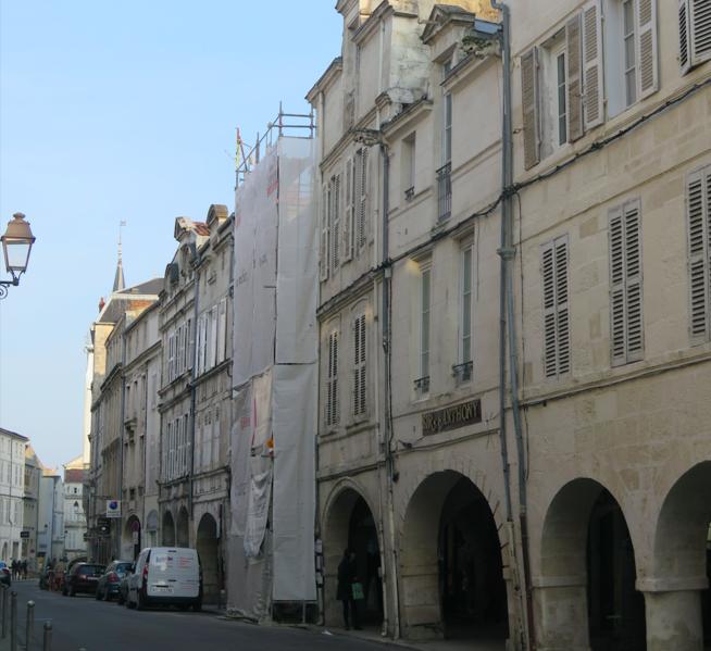 Photo du Monument Historique Maison situé à La Rochelle