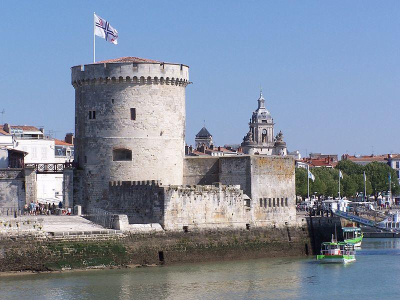 Photo du Monument Historique Tour de la Chaîne situé à Rochelle (La)