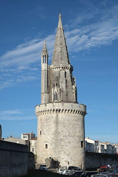 Photo du Monument Historique Tour de la Lanterne situé à Rochelle (La)