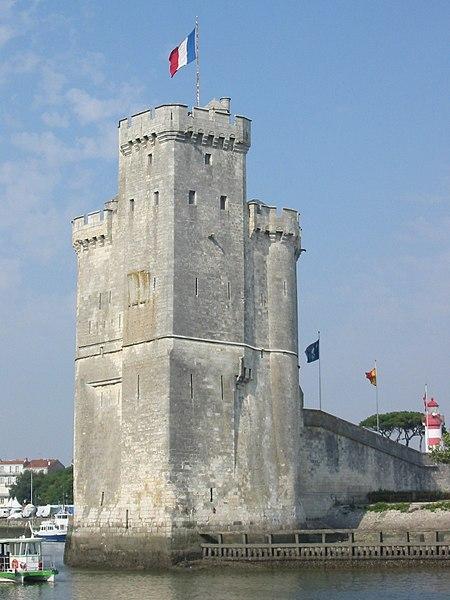 Photo du Monument Historique Tour Saint-Nicolas situé à Rochelle (La)