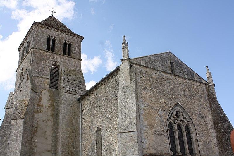 Photo du Monument Historique Eglise Saint-Cyr situé à Saint-Ciers-Champagne