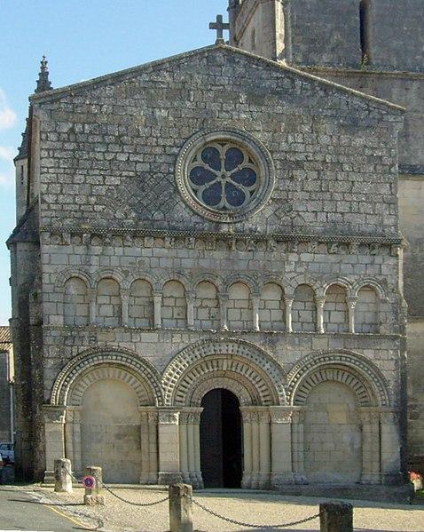 Photo du Monument Historique Eglise Saint-Fortunat situé à Saint-Fort-sur-Gironde