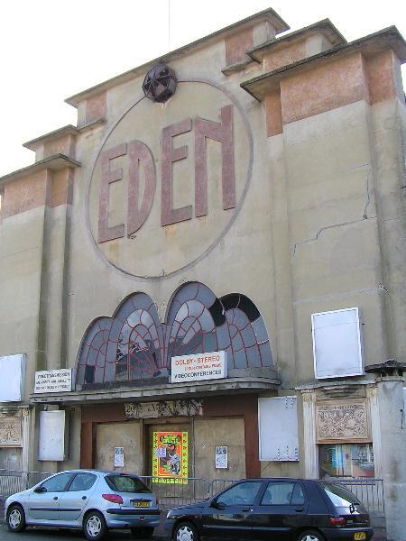 Photo du Monument Historique Cinéma l'Eden situé à Saint-Jean-d'Angély