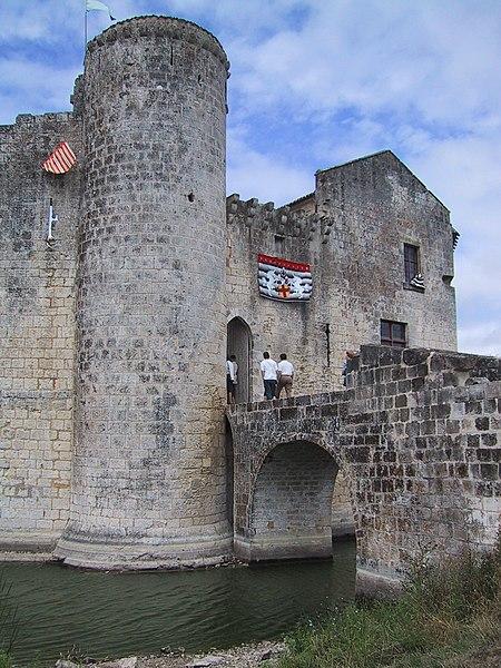 Photo du Monument Historique Château situé à Saint-Jean-d'Angle