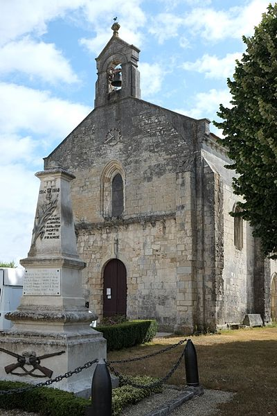 Photo du Monument Historique Eglise Saint-Julien situé à Saint-Julien-de-l'Escap