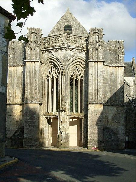 Photo du Monument Historique Eglise paroissiale Saint-Just situé à Saint-Just-Luzac