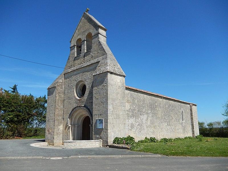 Photo du Monument Historique Ruines de l'église Saint-Laurent situé à Saint-Laurent-de-la-Barrière