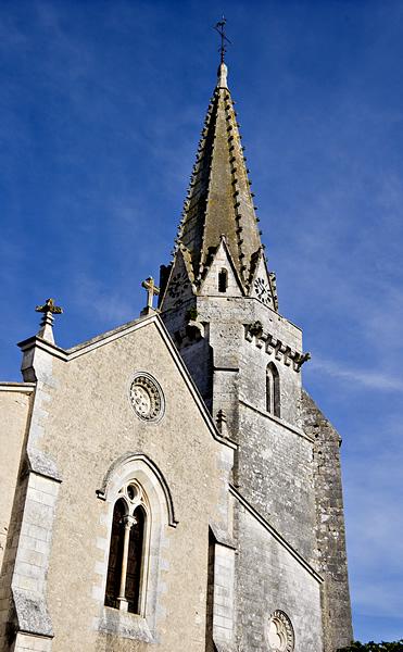 Photo du Monument Historique Eglise Notre-Dame de l'Assomption situé à Sainte-Marie-de-Ré