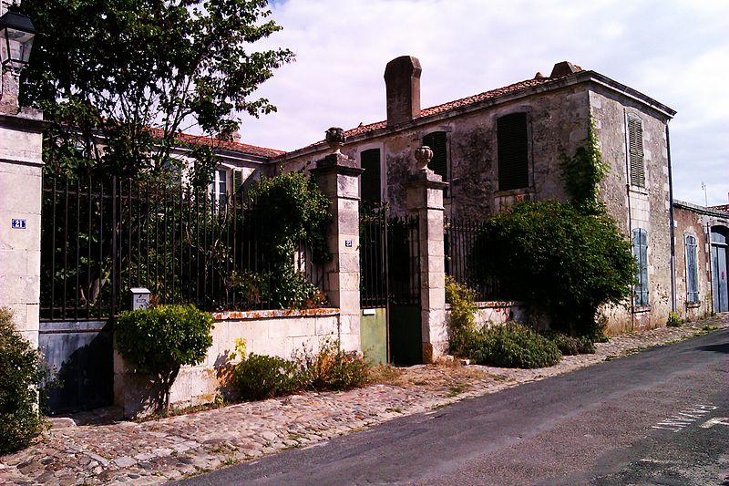 Photo du Monument Historique Demeure situé à Saint-Martin-de-Ré