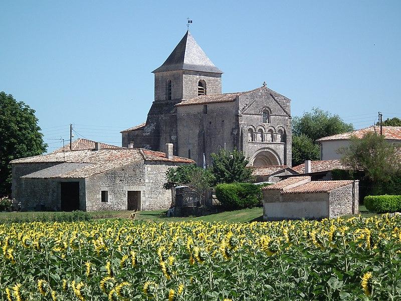 Photo du Monument Historique Eglise Saint-Palais situé à Saint-Palais-de-Phiolin