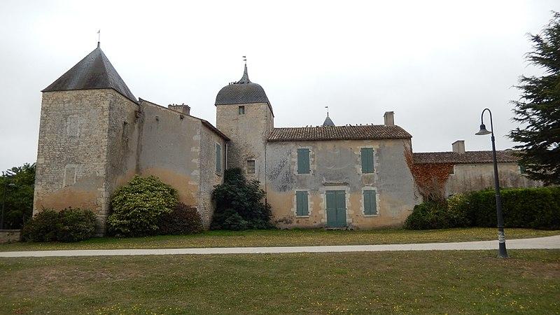 Photo du Monument Historique Château de Bonnemie situé à Saint-Pierre-d'Oléron