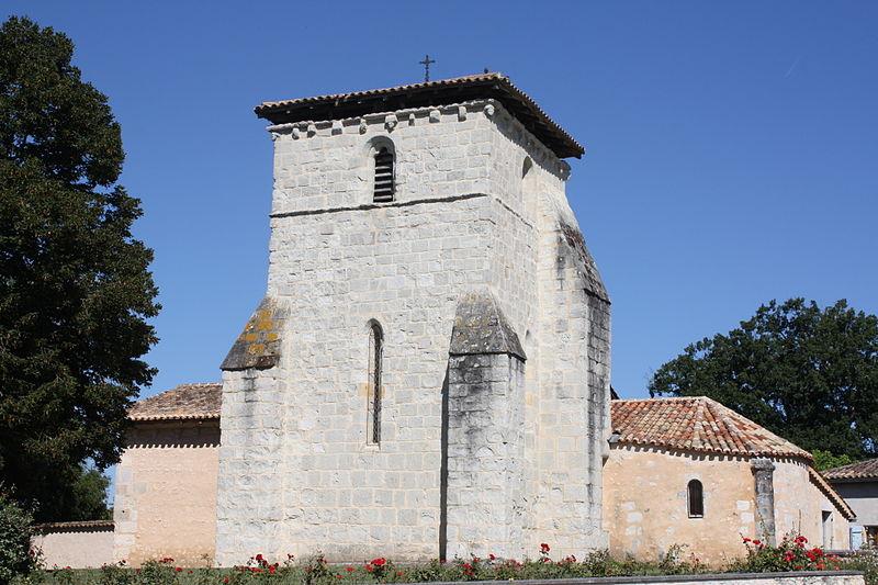 Photo du Monument Historique Eglise Saint-Pierre situé à Saint-Pierre-du-Palais