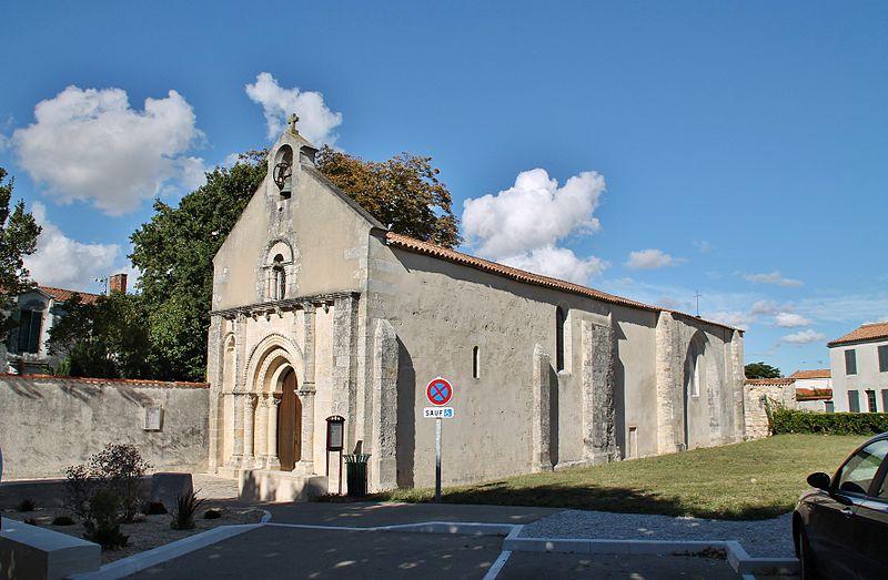 Photo du Monument Historique Eglise Saint-Rogatien Saint-Donatien situé à Saint-Rogatien