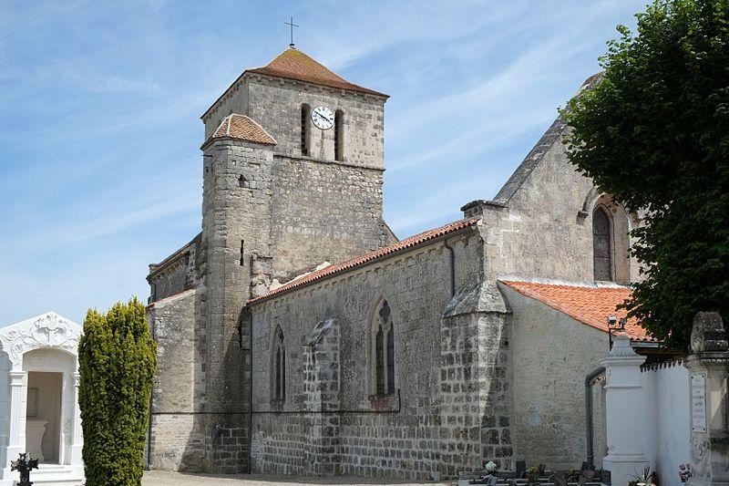 Photo du Monument Historique Eglise Saint-Saturnin situé à Saint-Saturnin-du-Bois