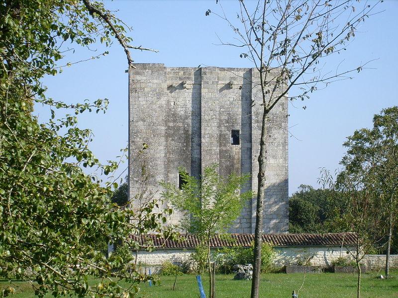 Photo du Monument Historique Ancien château situé à Saint-Sulpice-d'Arnoult