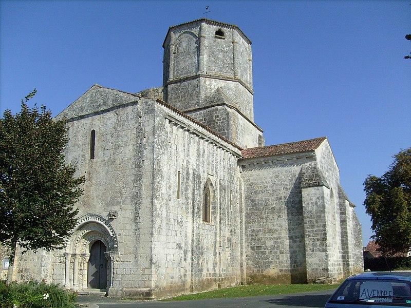 Photo du Monument Historique Eglise Saint-Sulpice situé à Saint-Sulpice-d'Arnoult