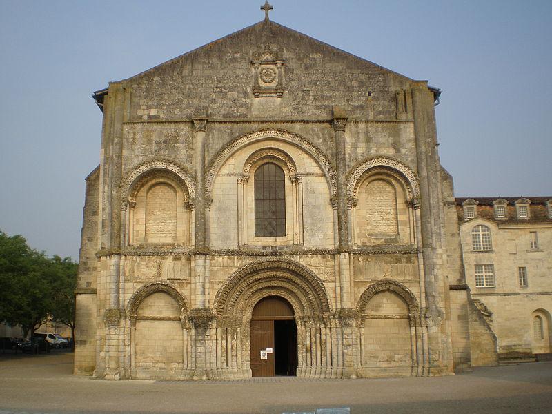 Photo du Monument Historique Eglise Sainte-Marie-aux-Dames situé à Saintes