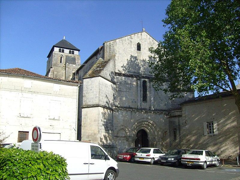 Photo du Monument Historique Eglise Saint-Pallais situé à Saintes