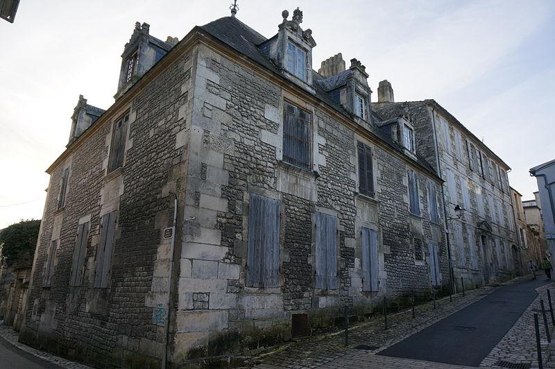Photo du Monument Historique Hôtel de Brémond d'Ars situé à Saintes