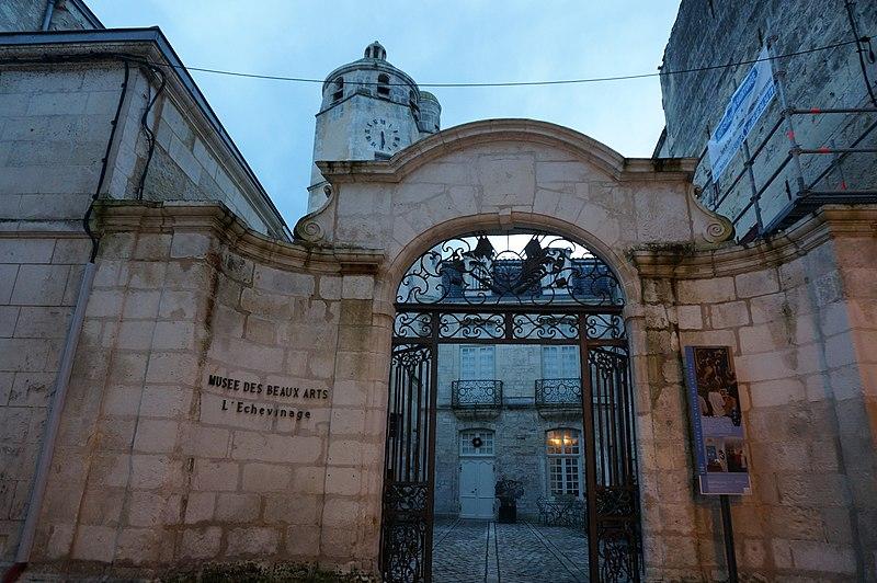 Photo du Monument Historique Maison de l'Echevinage situé à Saintes