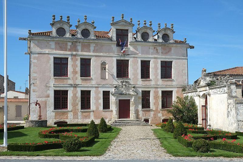 Photo du Monument Historique Ancienne seigneurie des Rohan situé à Soubise