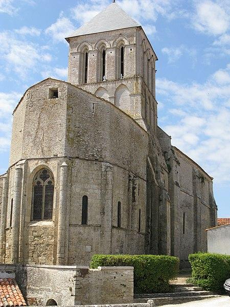 Photo du Monument Historique Eglise Saint-Vivien situé à Vandré