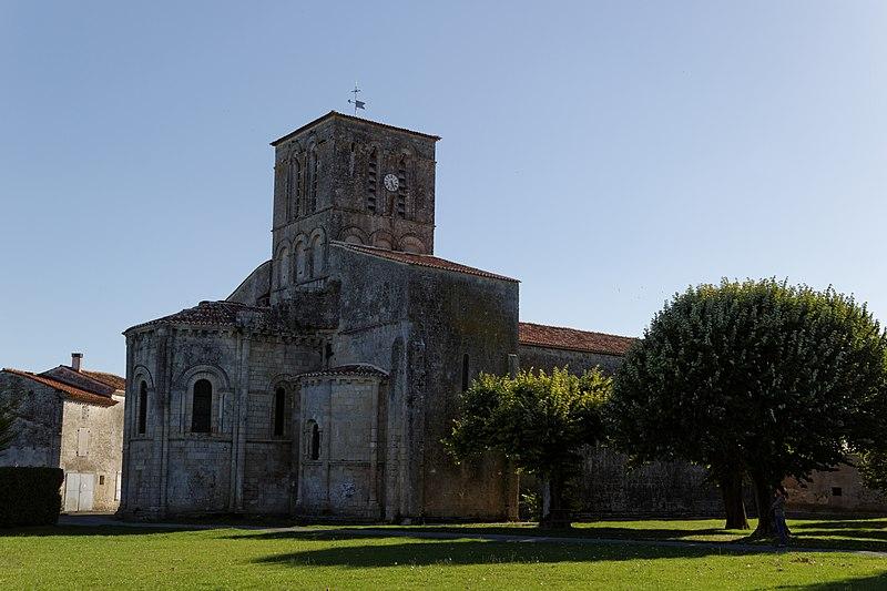 Photo du Monument Historique Eglise Saint-Germain situé à Varaize
