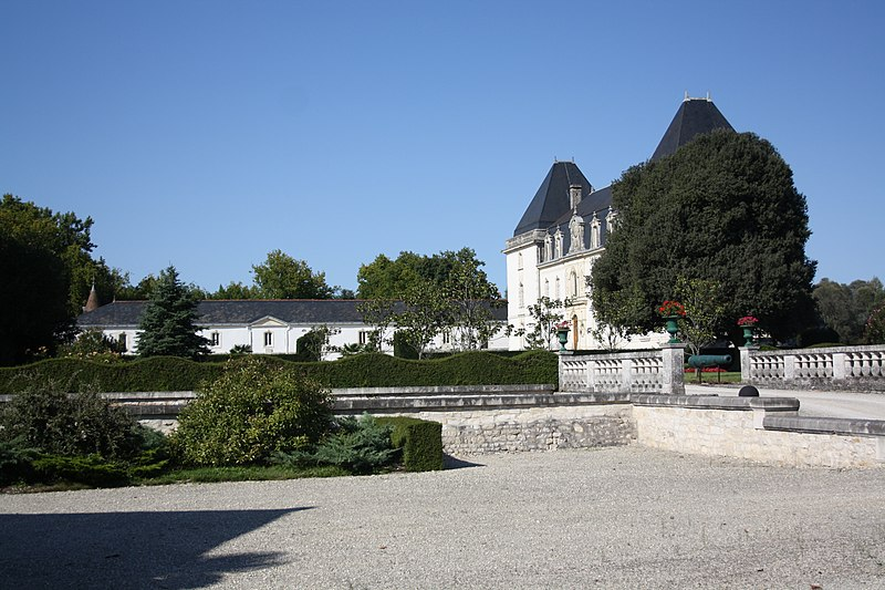 Photo du Monument Historique Château situé à Vervant