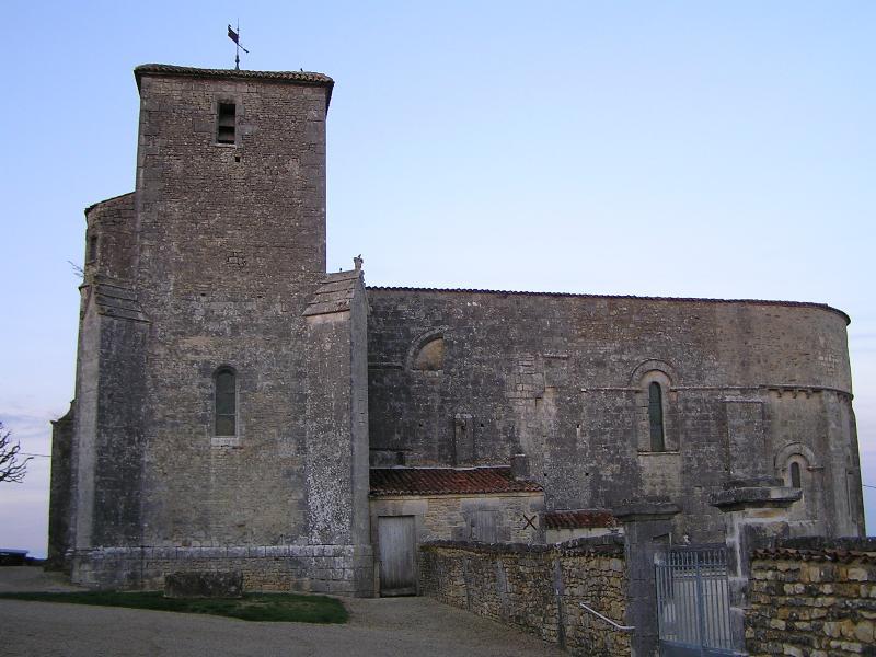 Photo du Monument Historique Eglise Saint-Victorin ou Saint-Victorinien situé à Villars-les-Bois
