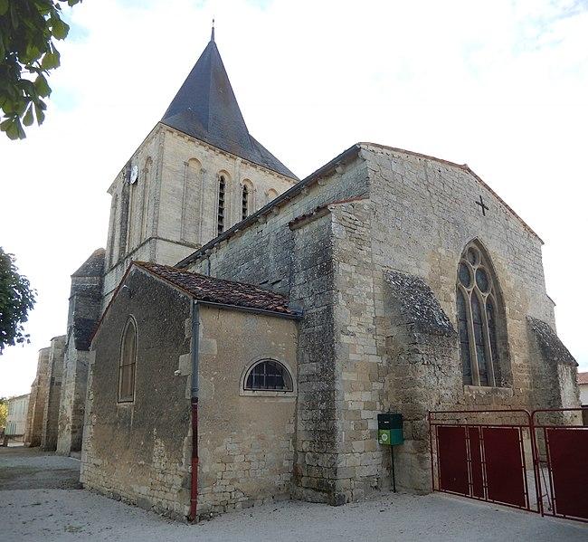 Photo du Monument Historique Eglise Notre-Dame de l'Assomption situé à Villeneuve-la-Comtesse