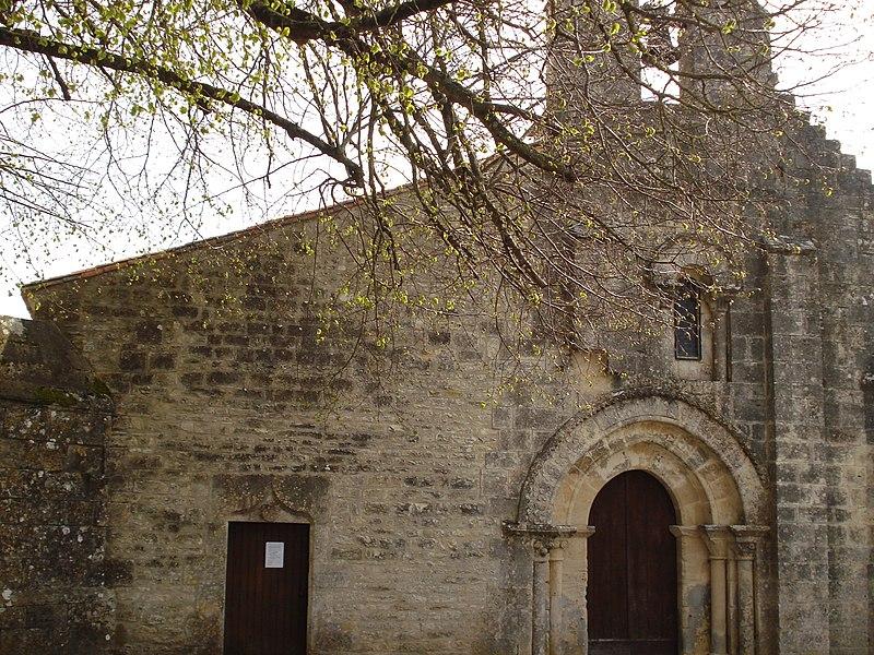 Photo du Monument Historique Eglise Saint-Hilaire situé à Villiers-Couture