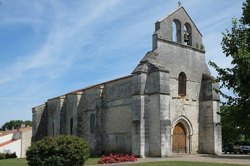Photo du Monument Historique Eglise Notre-Dame de l'Assomption situé à Vouhé
