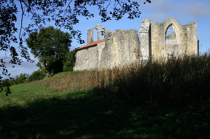Photo du Monument Historique Eglise Saint-Pierre situé à Puyrolland