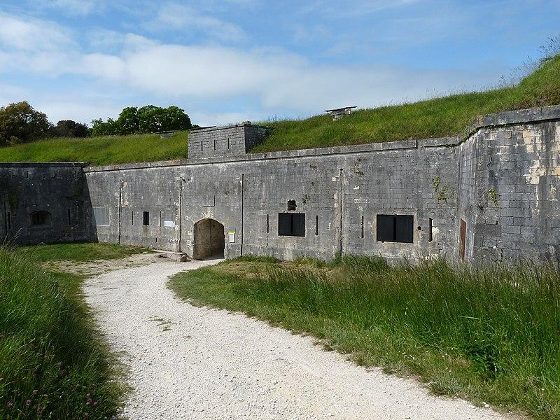 Photo du Monument Historique Fort Liédot situé à Ile-d'Aix